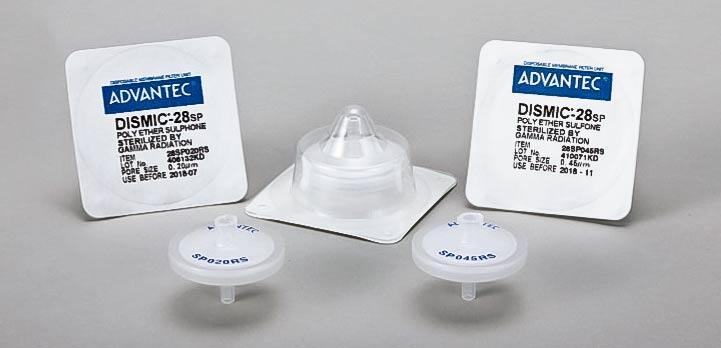 Filtry strzykawkowe PES