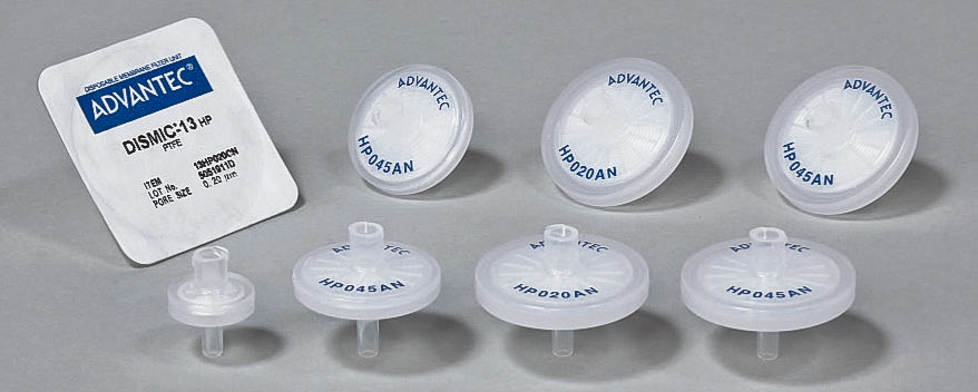 Filtry strzykawkowe Teflon